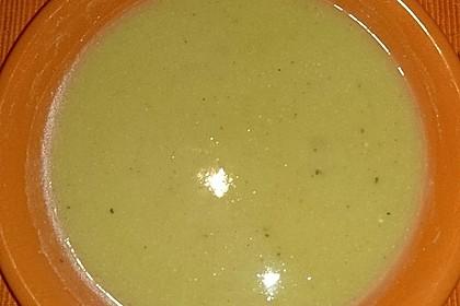 Zucchini - Kartoffel - Knoblauchsuppe 8