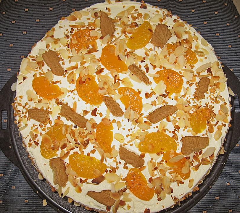 Mandarinen Spekulatius Torte Von Anemone76 Chefkoch De