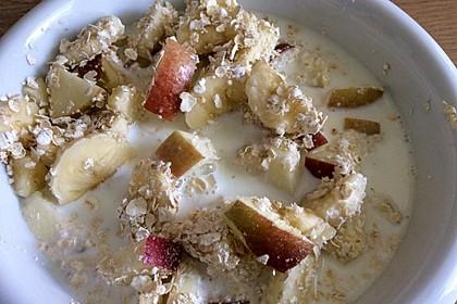 TuXies Haferflocken - Frühstück