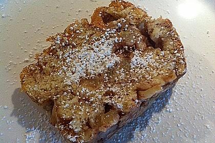 Apfel - Hefe - Kastenkuchen 1