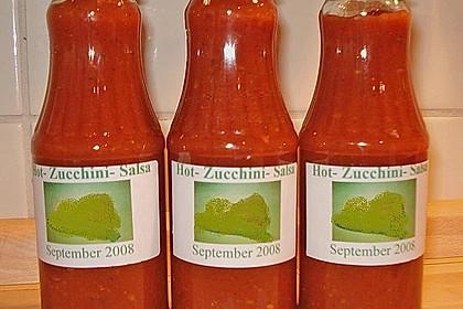 Hot Zucchini - Salsa 8