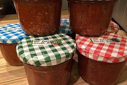 Hot Zucchini - Salsa 14