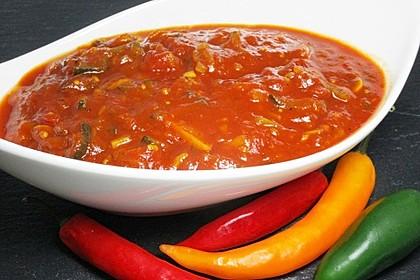 Hot Zucchini - Salsa 3
