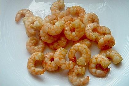 Asiatische Gambas / Prawns / Shrimps auf die leichte Art