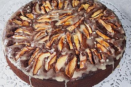 Apfel - Marzipan - Kuchen 6