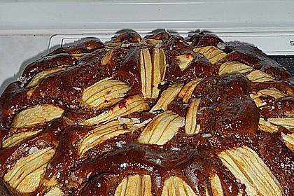 Apfel - Marzipan - Kuchen 26