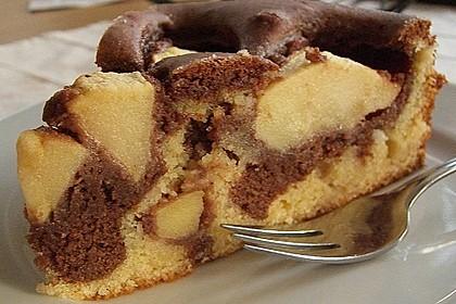 Apfel - Marzipan - Kuchen 1