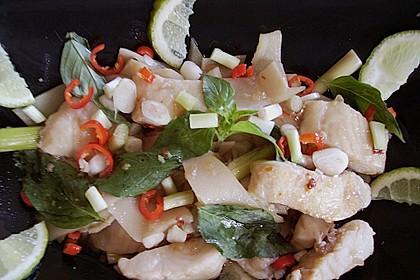Geschmortes Fischfilet mit saurem Bambus - Keang Plah Nor Mai Dorng