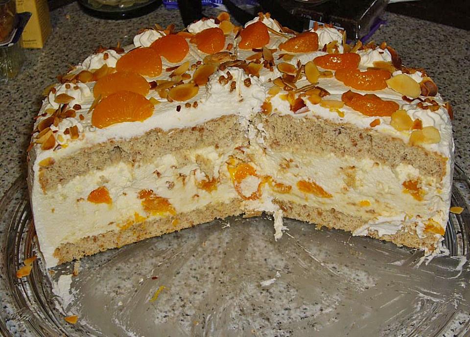 Mandarinen Spekulatius Torte Von Perle Chefkoch De