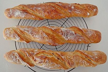 Sauerteig - Baguette 4
