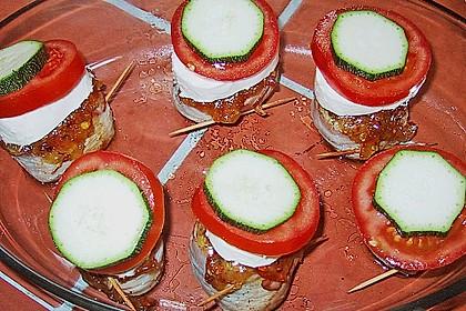 Überbackene Schweinefiletmedaillons mit Feldsalat 3