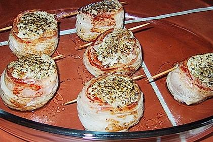 Überbackene Schweinefiletmedaillons mit Feldsalat 5