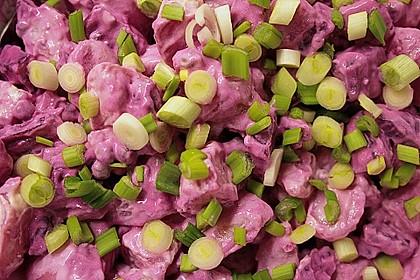 Schwedischer Kartoffelsalat mit Kapern 1
