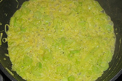 Lauch - Ravioli an Trüffelsauce 1