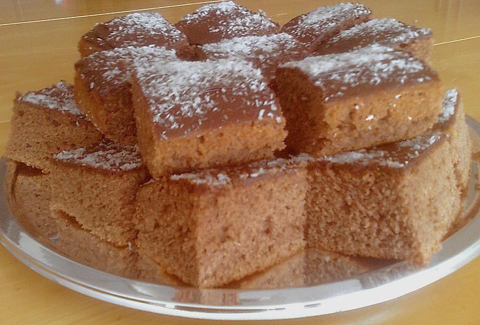 Schokoladen Blechkuchen Von Evi111 Chefkoch De