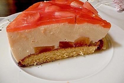 Blutorangen - Maracuja - Torte (Bild)