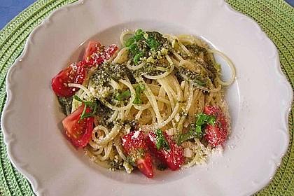 Italienischer Spaghettisalat mit Mozzarella 2