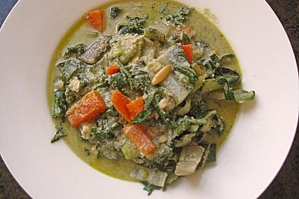 Mangold - Rucola - Zucchini - Eintopf