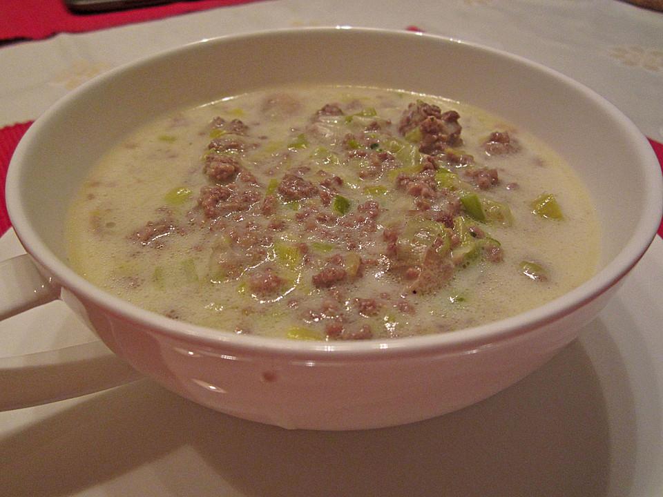 Käse - Porree - Suppe von XElizaX | Chefkoch