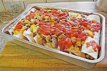 Enchilada verdura 46