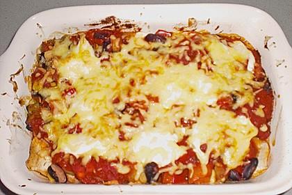 Enchilada verdura 120