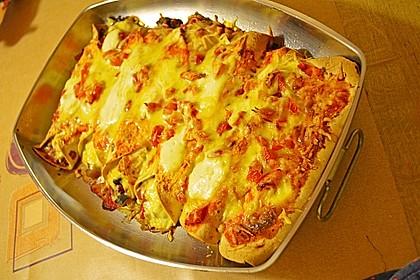 Enchilada verdura 93
