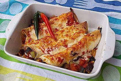 Enchilada verdura 1