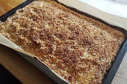 Buttermilchkuchen mit Kokos (Bild)