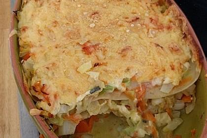 Wunderbare Spitzkohl - Möhren - Lasagne 27