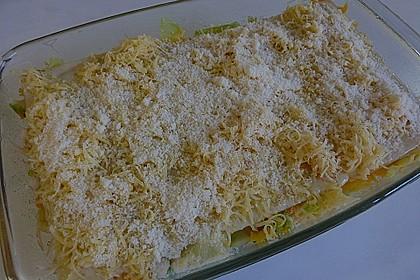Wunderbare Spitzkohl - Möhren - Lasagne 31