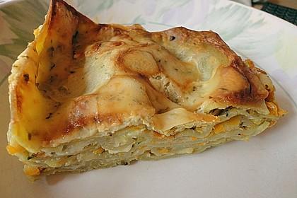Wunderbare Spitzkohl - Möhren - Lasagne 7