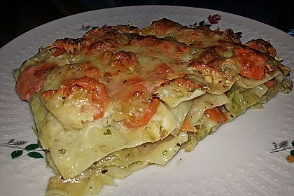Wunderbare Spitzkohl - Möhren - Lasagne 22