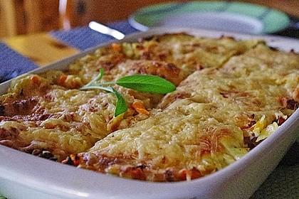 Wunderbare Spitzkohl - Möhren - Lasagne 1