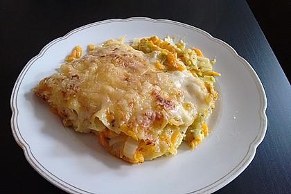 Wunderbare Spitzkohl - Möhren - Lasagne 3