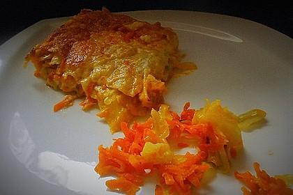 Wunderbare Spitzkohl - Möhren - Lasagne 18