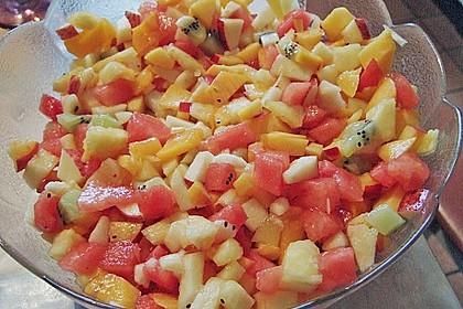 Sommerlicher Fruchtsalat 5