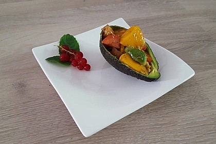 Avocado - Mango - Salat 6