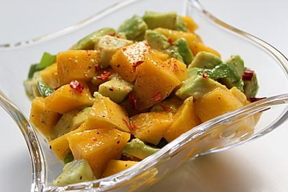 Avocado - Mango - Salat 13