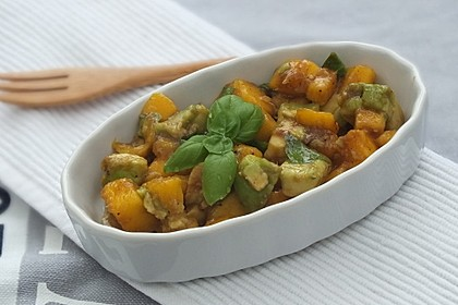 Avocado - Mango - Salat 4