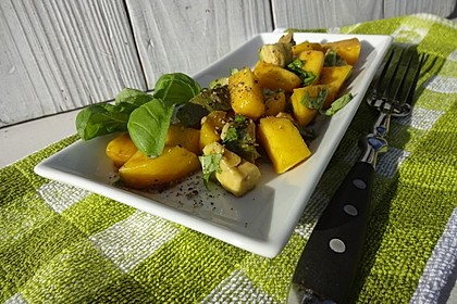 Avocado - Mango - Salat 8