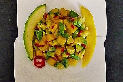 Avocado - Mango - Salat 12