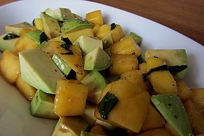 Avocado - Mango - Salat 2