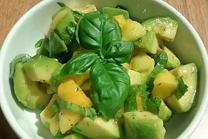 Avocado - Mango - Salat 16