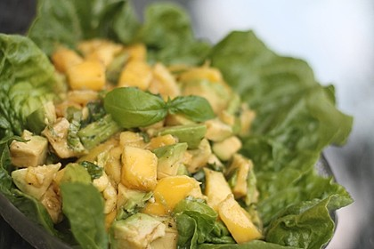 Avocado - Mango - Salat 9