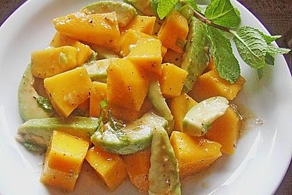 Avocado - Mango - Salat 10