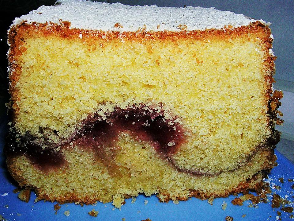 Vanillekuchen Mit Marmeladenfullung Von Medusa Bln Chefkoch De
