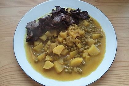 Kartoffel-Erbsen Curry 3