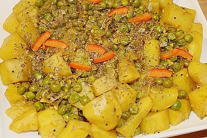 Kartoffel-Erbsen Curry 2