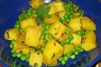 Kartoffel-Erbsen Curry 1