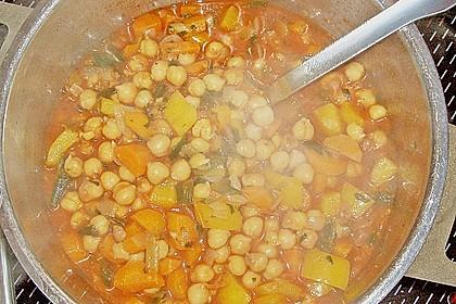 Couscous mit würzigem Kichererbsen-Stew 8